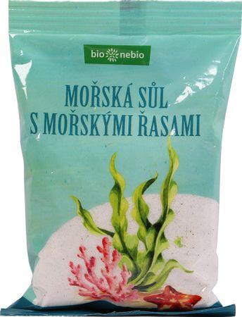 Bio Nebio Mořská sůl jodovaná mořskými řasami 300 g