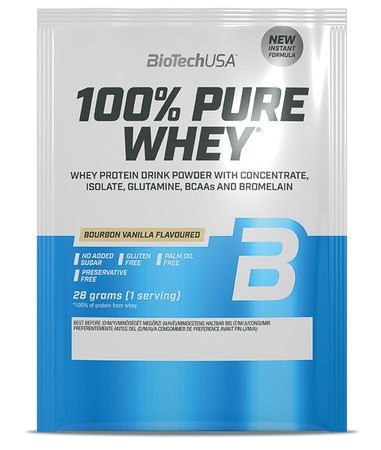 BioTech USA 100% Pure Whey sušenka 28 g