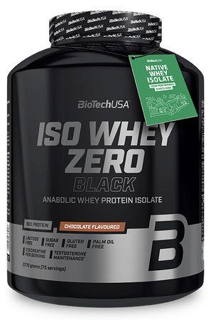 BioTech USA Iso Whey Zero Black čokoláda 2270 g