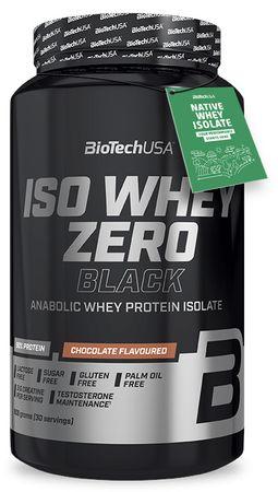 BioTech USA Iso Whey Zero Black čokoláda 908 g