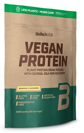 BioTech USA Vegan Protein káva 2000 g