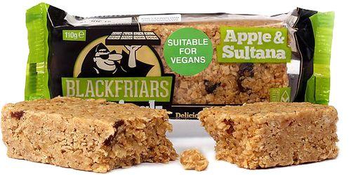 Blackfriars Bakery UK Flapjack jablko/sultánky 110 g
