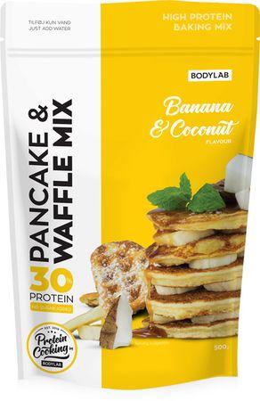 Bodylab High Protein Pancake (& Waffle) Mix banán/kokos 500 g