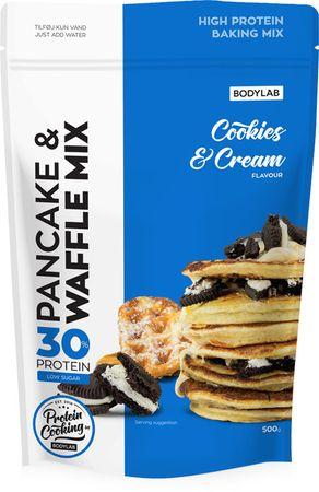 Bodylab High Protein Pancake (& Waffle) Mix cookie & cream 500 g