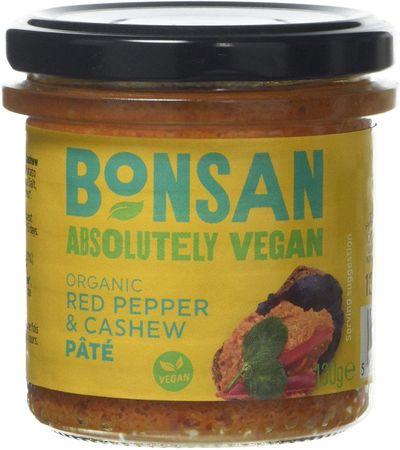 Bonsan Pate červená paprika/kešu 130 g