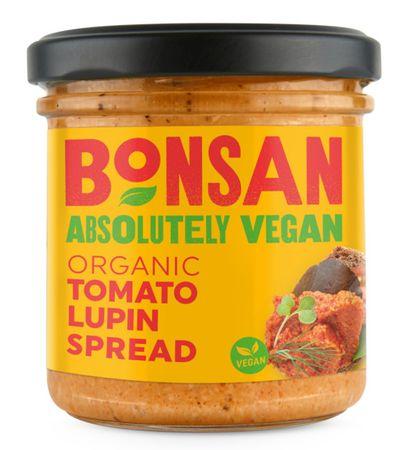 Bonsan Pate rajče/lupina 140 g - Zkrácená trvanlivost