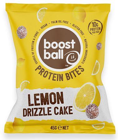 Boostball Bites s přidaným proteinem citronový dort 45 g
