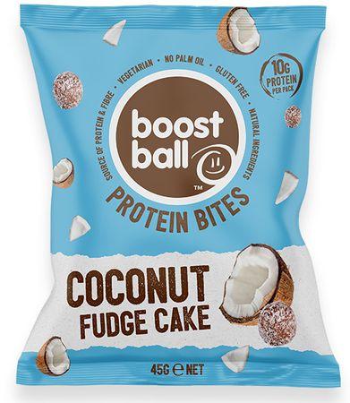 Boostball Bites s přidaným proteinem kokos 45 g