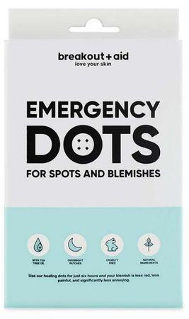 Breakout+aid Náplasti na lokální ošetření akné
