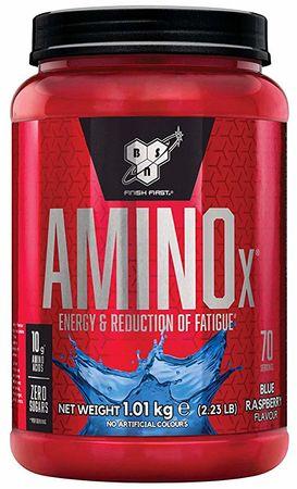 BSN Amino X modrá malina 1010 g