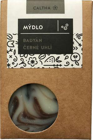 Caltha Mýdlo Badyán s černým uhlím