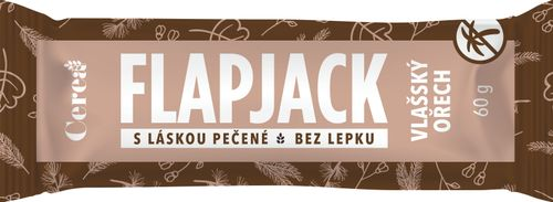 Cerea Flapjack vlašský ořech 60 g