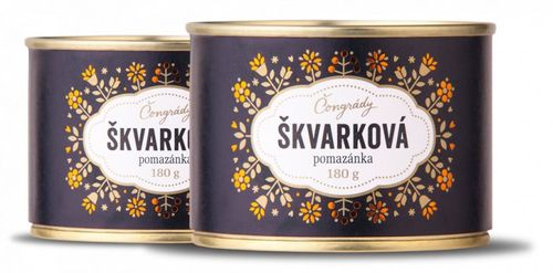 Čongrády Škvarková pomazánka
