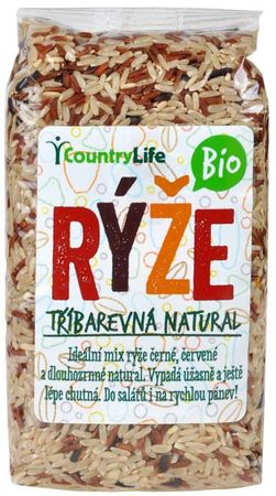 Country Life BIO Rýže tříbarevná