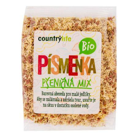 Country Life Písmenka pšeničná mix BIO