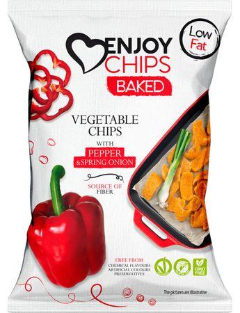 Enjoy Chips pečené zeleninové chipsy