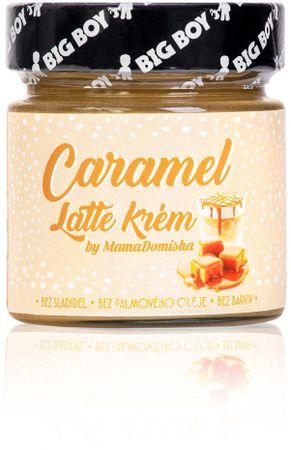 BIG BOY Caramel Latte by@mamadomisha