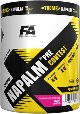 Fitness Authority Xtreme Napalm Pre-Contest exotic 500 g