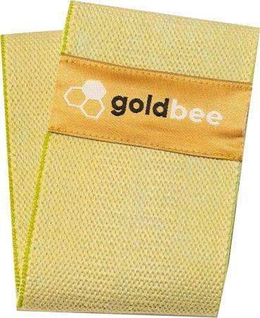 GoldBee Bavlněná odporová guma zelená střední odpor