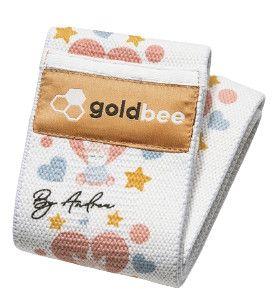 GoldBee Textilní odporová guma M jednorožec střední odpor