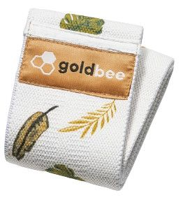 GoldBee Textilní odporová guma M listy střední odpor