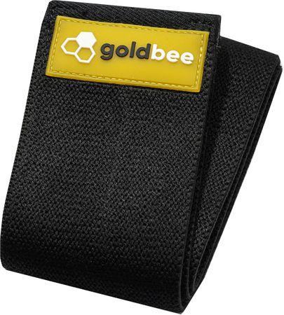 GoldBee Textilní odporová guma L černá silný odpor