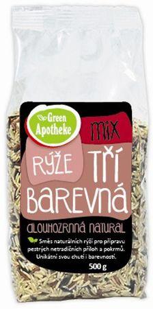 Green Apotheke Mix tříbarevná rýže natural