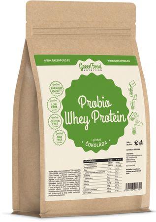 GreenFood Probio Whey Protein čokoláda 500 g