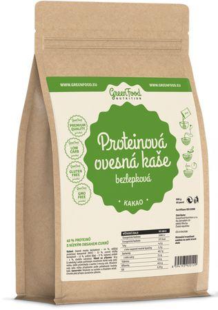 GreenFood Proteinová ovesná bezlepková kaše banán 500 g