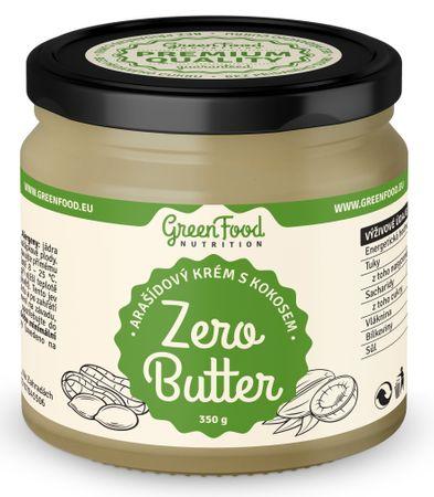 GreenFood Zero Butter arašídy/kokos 350 g