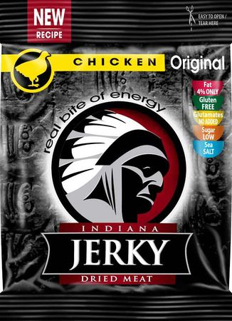Indiana Jerky Kuřecí 25 g