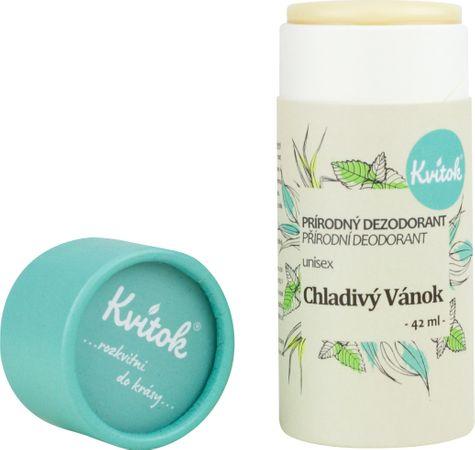 Kvítok Přírodní deodorant Chladivý vánek