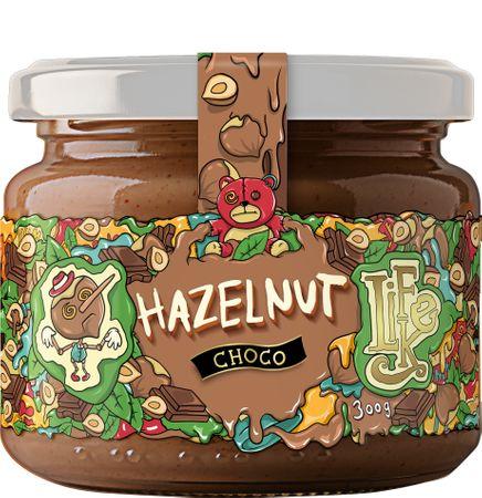 LifeLike Lískooříškový krém s čokoládou