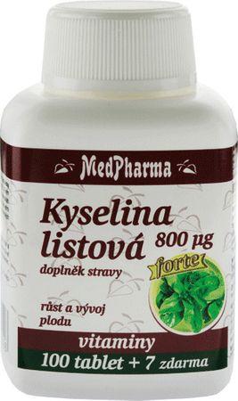 MedPharma Kyselina listová 800 mcg