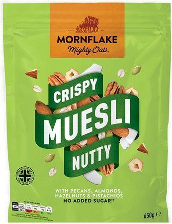 Mornflake Crispy Muesli oříšek 650 g