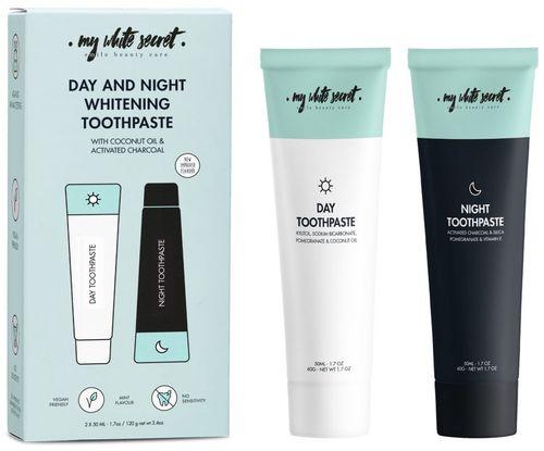My White Secret denní a noční bělící zubní pasta
