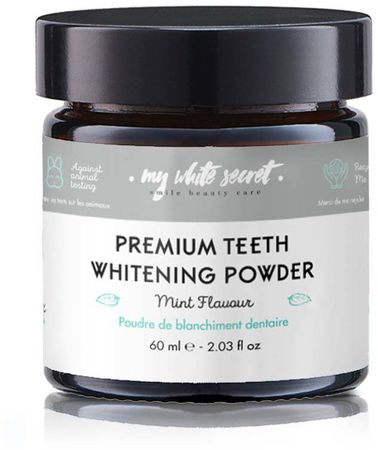My White Secret Teeth Whitening Powder