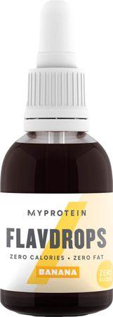 Myprotein FlavDrops banán 50 ml