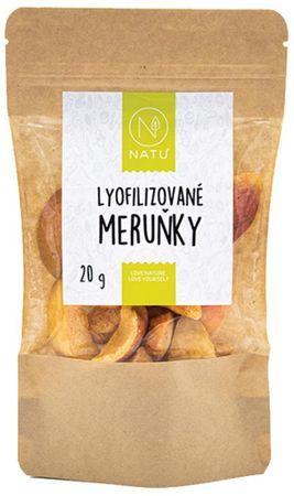 Natu Lyofilizované meruňky