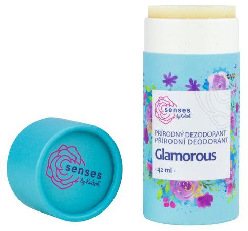 Kvítok Přírodní deodorant Senses Glamorous