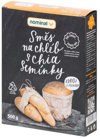 Nominal Směs na chléb s chia semínky
