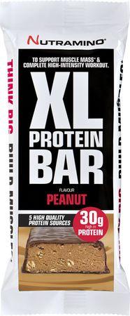 Nutramino Protein Bar XL čokoláda/arašídy 82 g