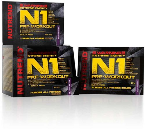 Nutrend N1 Pre-workout grep 17 g
