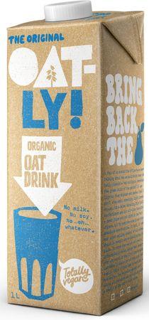 Oatly Ovesný nápoj Organic