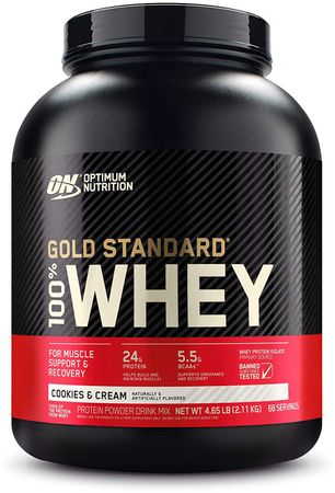 Optimum Nutrition Gold Standard 100% Whey Protein cookies 2270 g