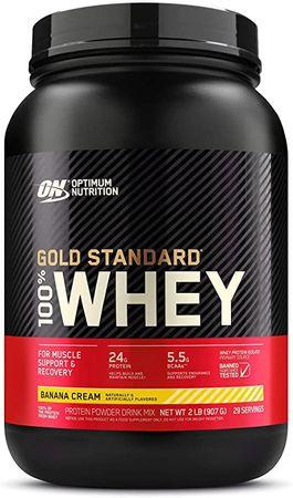 Optimum Nutrition Gold Standard 100% Whey Protein banán 900 g