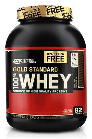 Optimum Nutrition Gold Standard 100% Whey Protein čokoláda/lískový ořech 896 g