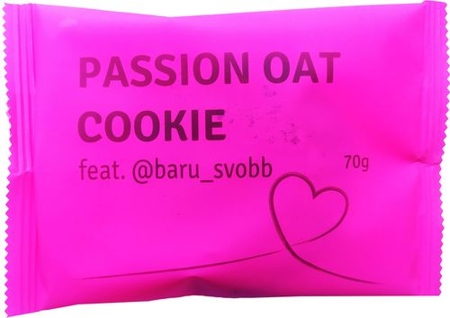 Passion Bar Oat Cookie