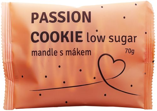 Passion Bar Protein Cookie Low Sugar