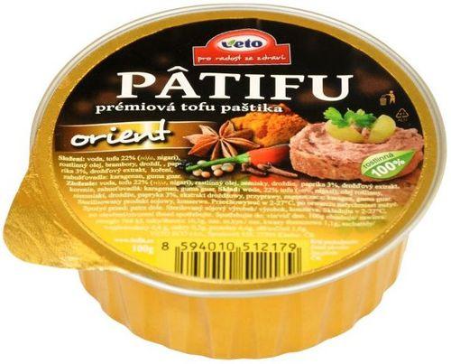 Patifu prémiová tofu paštika